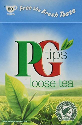 Tips Loose Leaf - PG Tips Tea - Loose Leaf - 250g - 8.8oz