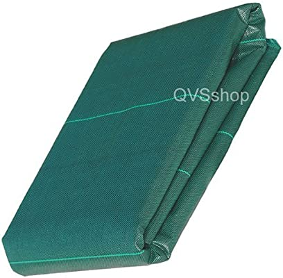 QVS Shop 2M x 5M Green Extra Heavy Duty 125gsm Weed Control Membrane