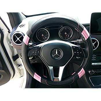 Pink jeep steering wheel cover