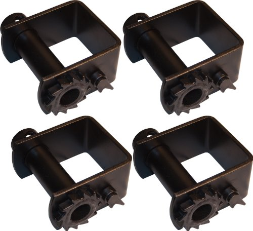 4 Heavy Duty Weld On Winches for Flatbed Trailers, Car Haulers