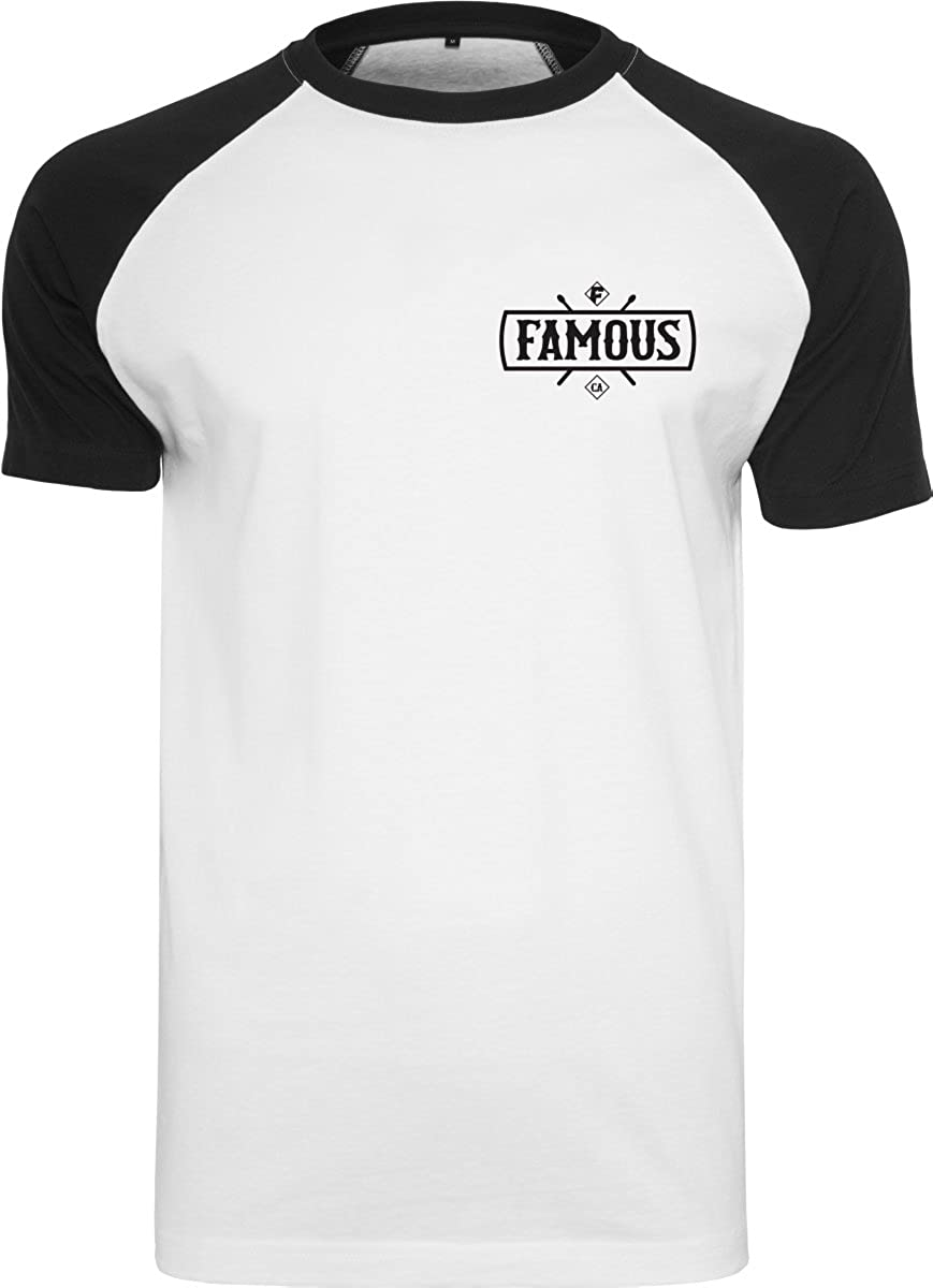 FA009 White M Famous Stars And Straps Mens Chaos Tank Top Sleeveless T-Shirt Men