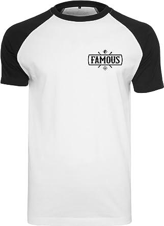 7037874ad727 Famous Stars and Straps Camiseta para Hombre con Parche: Amazon.es: Ropa y  accesorios
