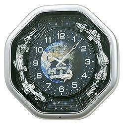 Rhythm USA Galaxy Wall Clock