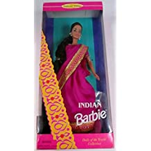 Mattel Barbie As An Indian, Dolls Of The World Collection