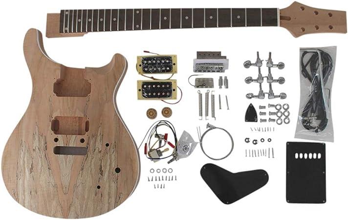 gd830 Caoba Cuerpo Con Spalted Arce Chapa Top Guitarra Eléctrica ...