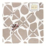 Sweet Jojo Designs Giraffe Fabric Memory/Memo Photo Bulletin Board