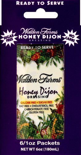 Walden Farms Honey Dijon Salad Dressing Packets - Twelve 1 oz. packets (2 Boxes)