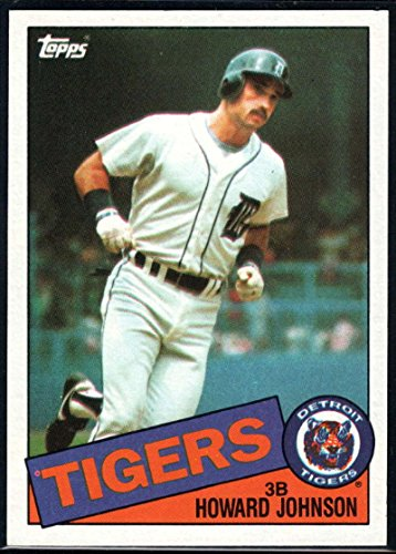 1985 Topps Baseball #192 Howard Johnson Detroit Tigers Official MLB Trading Card (stock photos used) Near Mint or better condition