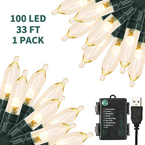 100 Led Christmas Light String in US - 7