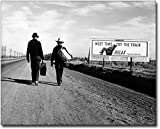 Toward Los Angeles, Dorothea Lange FSA 11x14 Silver Halide Photo Print