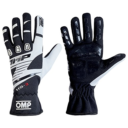 OMP KS-3 KS3 Kart Gloves KK02743E High Grip Karting in Adult & Child Sizes ()
