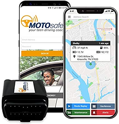 Teen Driving App >> Gps Tracker For Vehicles Motosafety 4g Real Time Obd Tracking Device For Kids Cars Vehicle Monitoring System