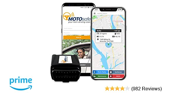 Once Driven Reviews >> Gps Tracker For Vehicles Motosafety 4g Real Time Obd Tracking Device For Kids Cars Vehicle Monitoring System