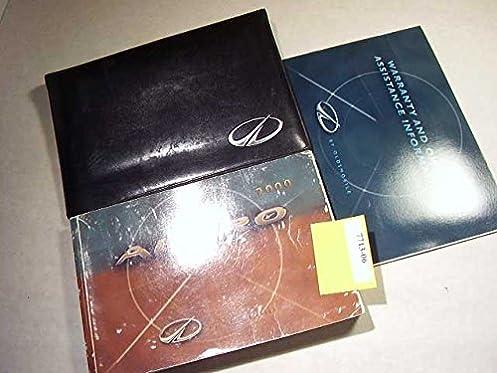 2000 oldsmobile alero owners manual oldsmobile amazon com books rh amazon com 2003 oldsmobile alero service manual oldsmobile alero owners manual 2004