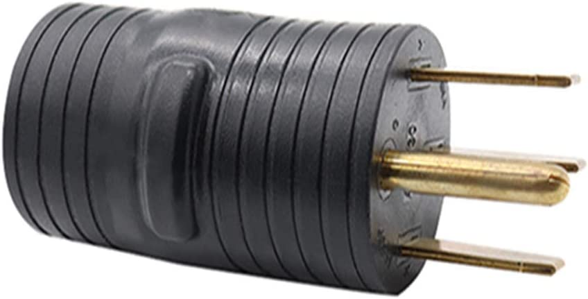 BEESCLOVER Outdoor Electrical Power Converter RV Adapter Plug 50A Male to 30A Female FC10007
