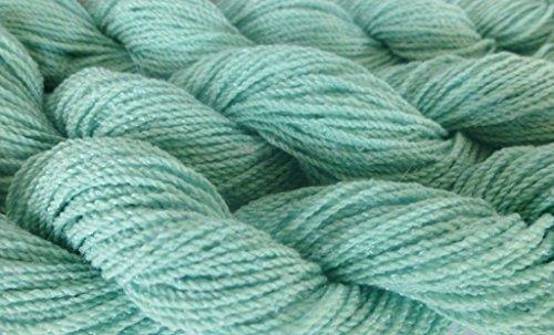 Mint Julip Acrylic Blend Stretch Knit Fingering Novelty (Stretch Linen Blend)