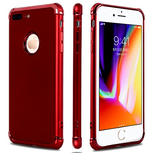 Shockproof Bumper Silicone Case For iphone 7 plus - 9