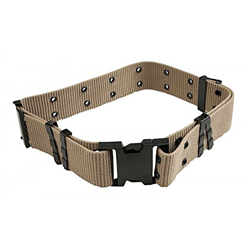Made in US Army USMC Military LC-2 Tan Desert Tactical Pistol WEB Utility Belt Large