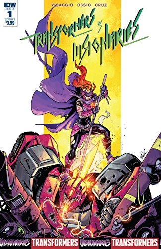 Transformers vs. Visionaries (2018) #1 VF/NM Cover A IDW