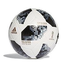 Adidas Balón Top Glider Telstar – Mundial de futbol Rusia 2018 – Oficial de la FIFA