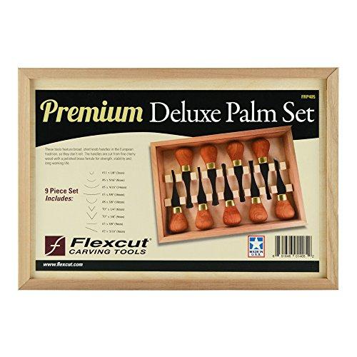 Flexcut FLEXFRP405-BRK Premium Deluxe Palm Set