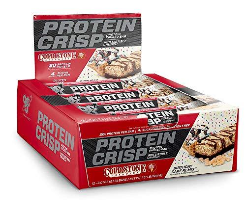 Bsn Coldstone Bday Protein Crisp Bar, 12 Count
