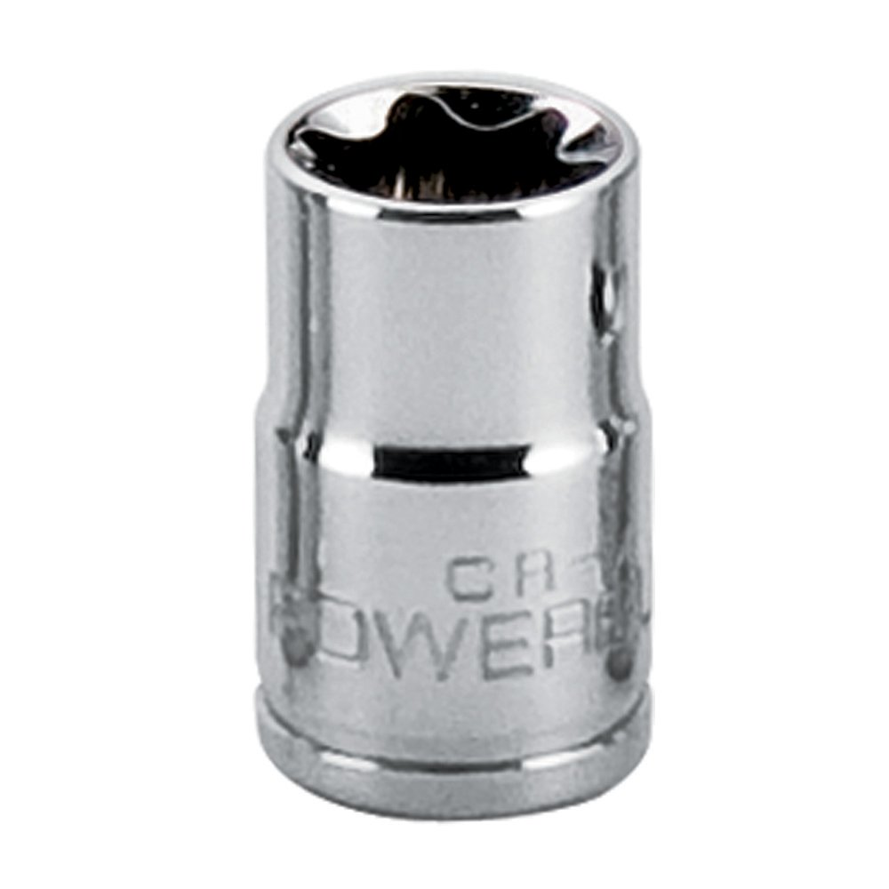 Powerbuilt 1/4'' Drive E Star Socket E 7-641724