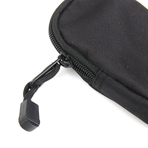 Außen Edc Airsoft Taktisches Nylon Kleinen Geldbeutel Schlüsseltasche Halter Schwarz