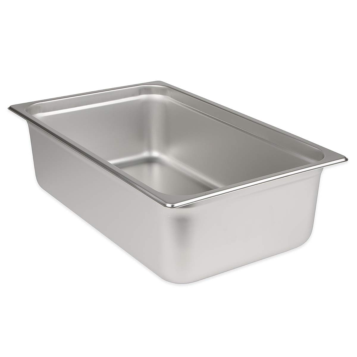 Update International SPH-1006 6-Inch Full-Size Anti-Jam Steam Table Pan, Silver UPDSPH1006