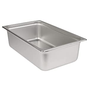 "Update International (SPH-1006) 6"" Full-Size Anti-Jam Steam Table Pan"