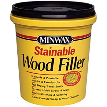 Elmer 39 s e887q stainable wood filler wood - Wood filler or caulk for exterior trim ...