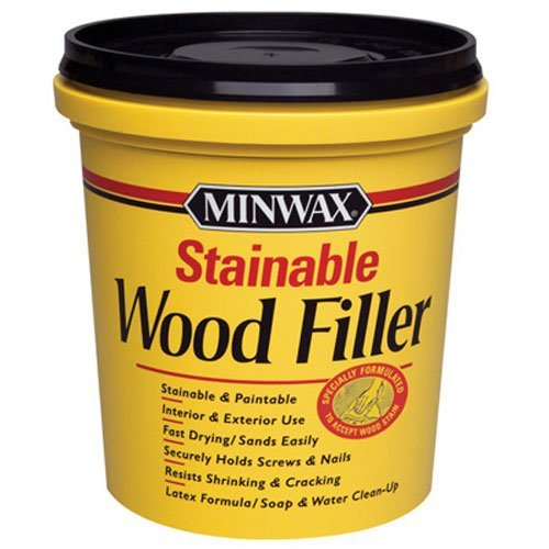 (Minwax 42853000 Stainable Wood Filler,)