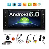 Navigation Seller - 2 din android 6.0 car radio gps navigation for toyota Quad-Core 7 inch 800480 HD full touch screen cat stereo head unit