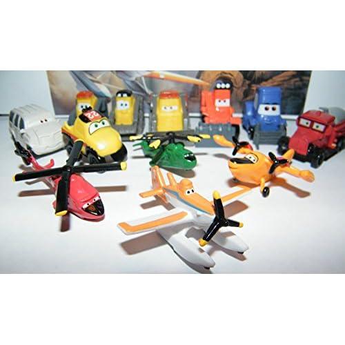 Disney Planes Fire and Rescue Movie Mini Figure Set Toy