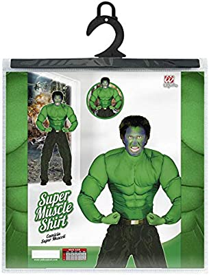 WIDMANN Widman - Disfraz de Hulk adultos, talla M: Amazon.es ...