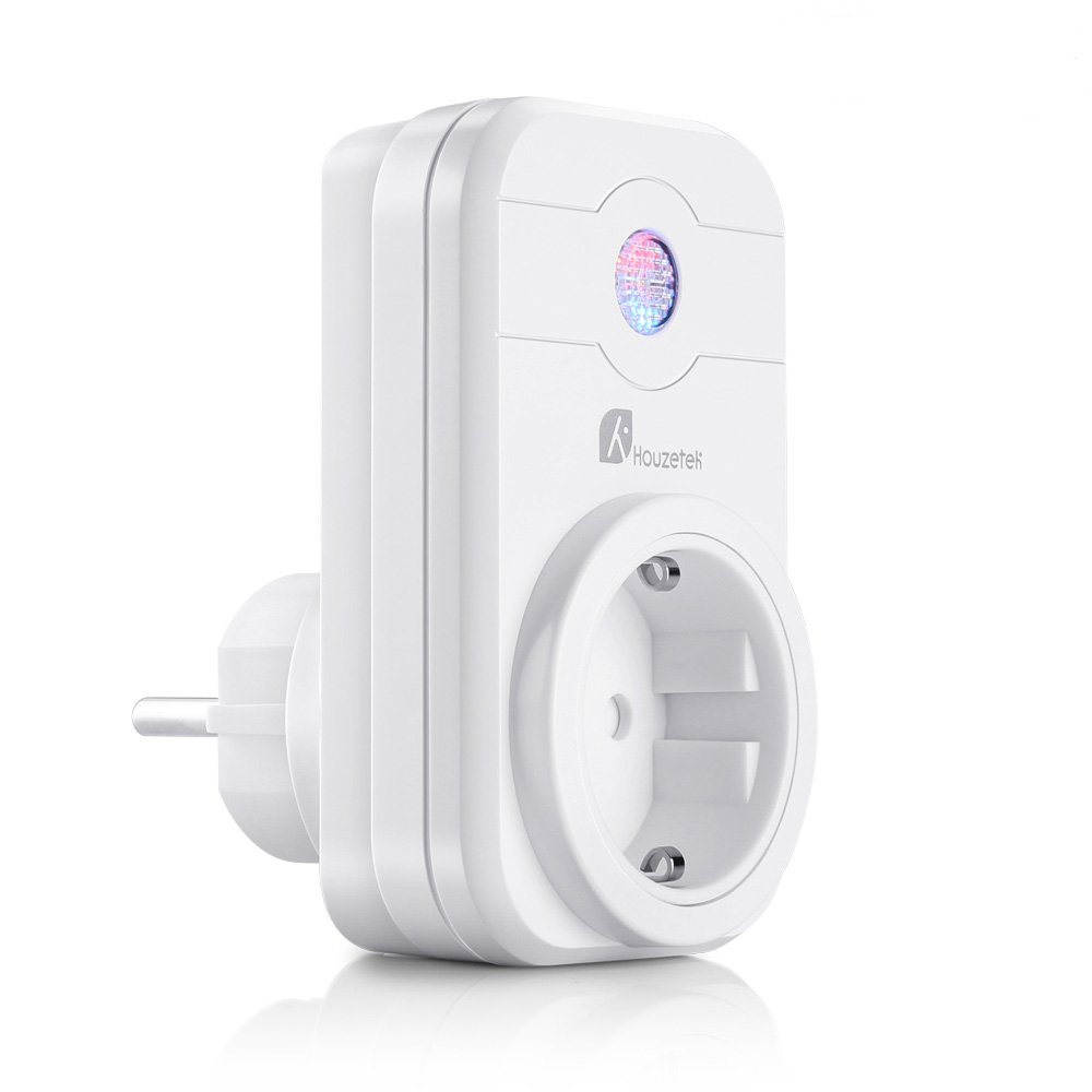 Presa Intelligente, Houzetek Smart Wifi Plug con supporto APP Alexa / Google Home