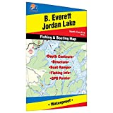 B. Everett Jordon Lake Fishing Map