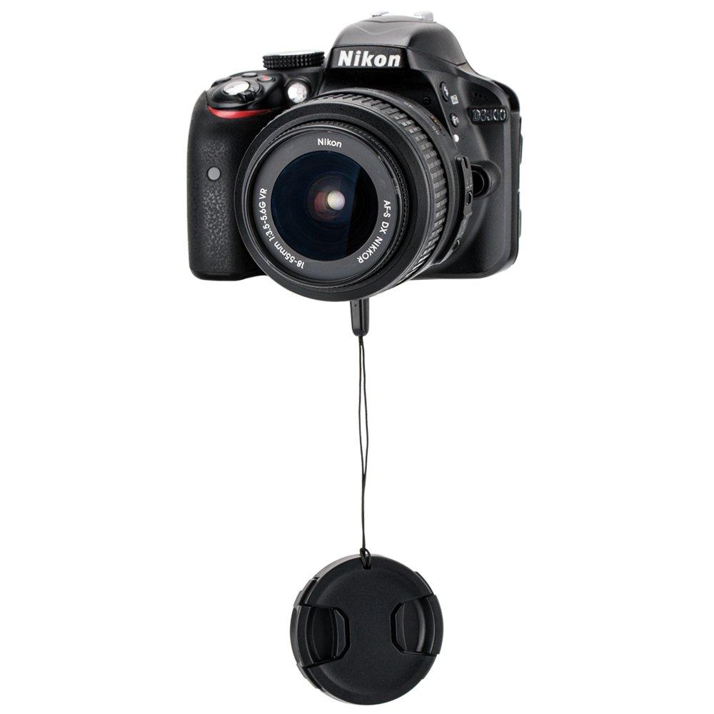 JJC 67mm Front Lens Cap Cover w//Elastic Cap Keeper for Canon EF-S 18-135mm,EF-S 10-18mm,EF-S 17-85mm,EF 70-300mm f4-5.6//Nikon AF-S 18-140mm,AF-S 85mm and More Lenses with 67mm Filter Thread 2-Pack