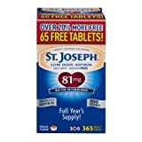 St. Joseph Safety Coated Aspirin (Pack of 5)