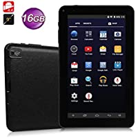 Hoshell 9 inch Tablet Google Android 4.4, Quad Core, Dual Camera, Wi-Fi, Bluetooth,1GB/16GB,HD