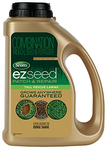 Scotts EZ Seed Patch & Repair Tall Fescue Lawns - 3.75 Lb. | Combination Mulch, Seed & Fertilizer | Reduces Seed Wash-Away | ()