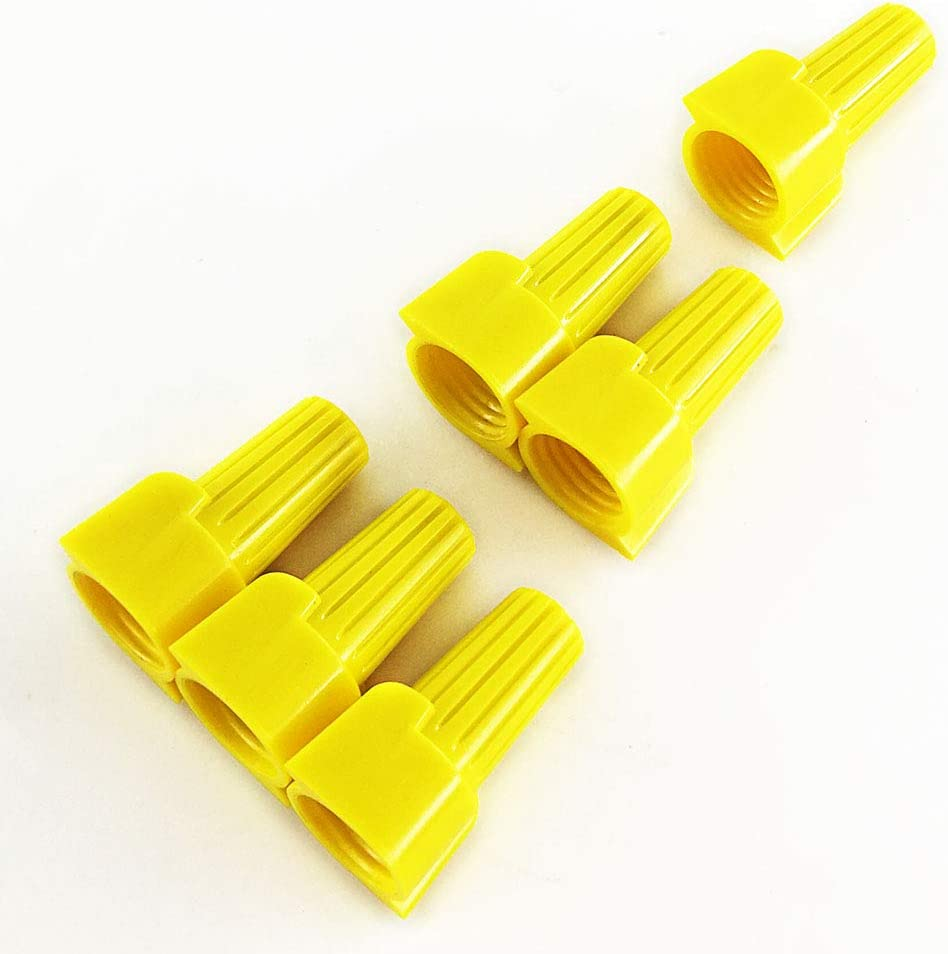 P11 Yellow Winged Nut Screw On Wire Connectors Twist-On BAG 1000 pc
