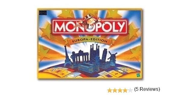 Hasbro 6188013 - Monopoly (edición Europa) [Importado de Alemania]: Amazon.es: Juguetes y juegos
