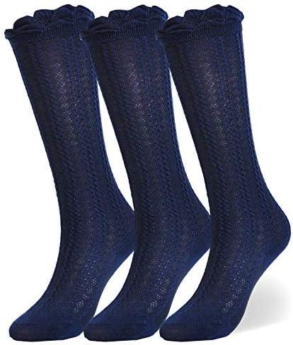 Epeius Cotton Uniform Ruffled Stockings product image