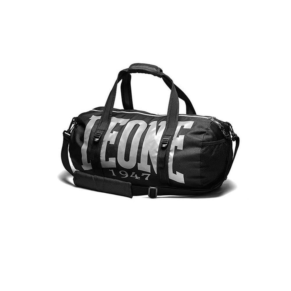 Leone 1947 Light Bag Cabas de Fitness, 45 cm, 30 litres, Noir AC904 LIGHT BAG