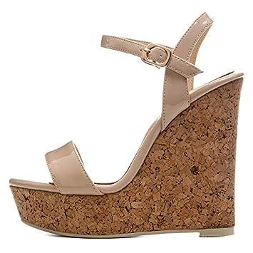 Marca De Hoesczs Platfrom Zapatos Fiesta 41 Mujer Tamaño Nuevo 34 9IHDWE2