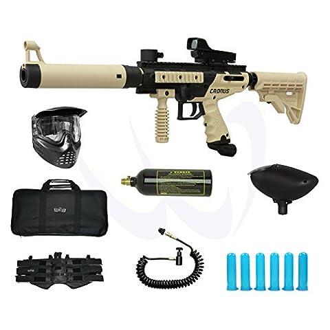 Tippmann Cronus Tactical Paintball Gun 3Skull Deluxe Sniper Set - Gun Sniper Set