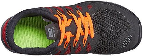 NikeFree 5.0 (GS) - Zapatillas de correr Niños^Niñas Negro (Blk/Mtllc Slvr-Drk Gry-Gym Rd)