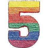 Amscan Pinatas - Piñata, diseño del número 5
