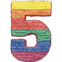Amscan Pinatas Numbers 5